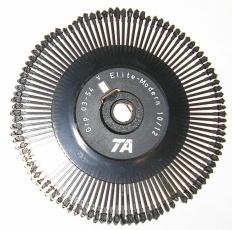 4D : Product info for Daisy Wheel for Juki/Triumph Adler printers