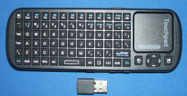 4D : Product info for Handheld Mini Wireless Keyboard with